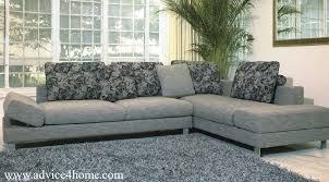 Gray Lshape Sofa Design In Living Room Attire Office - Home sofa design