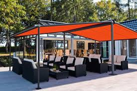 Large Awning Markilux Syncra 2 Fix Freestanding Awnings Roché Awnings