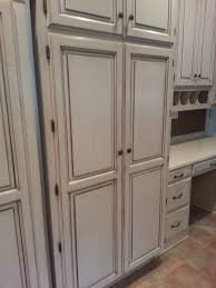Diy Old Kitchen Cabinets Diy Cabinet Painting And Restaining The Magic Brush Inc