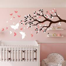 stickers arbre chambre fille sticker arbre chambre bb beautiful with sticker arbre chambre bb