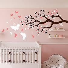 stickers chambre bébé arbre sticker chambre bebe arbre chambre idées de décoration de