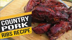 country style pork ribs how to smoke country ribs recipe pit