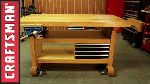 garage workbench easyage wood shop work table plans 2x4 fast