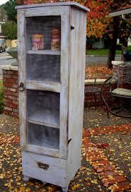wood pie safe cabinet storage shelf shabby by honeystreasures