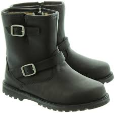 buy ugg boots canada ugg harwell biker boots in black in black