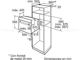 Comment Installer Un Four Encastrable by Bosch Hba74r150f Fours