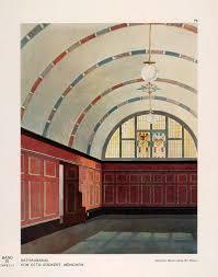 art deco architecture u0026 interior design u2014 original 1928 color