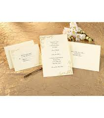 wilton wedding invitations wilton wedding invitation kit scrollwork gold invitation kits