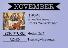 thanksgiving theme songs camille u0027s primary ideas january 2015