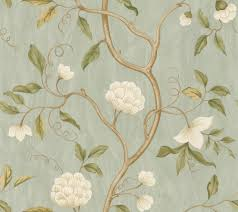 snow tree aqua wallpaper by colefax and fowler home ideas
