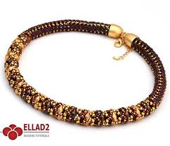 diamond necklace patterns images Diamond duo necklace beading tutorials and patterns by ellad2 jpg