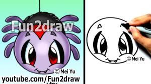 cute anime halloween drawn arachnid cute anime pencil and in color drawn arachnid