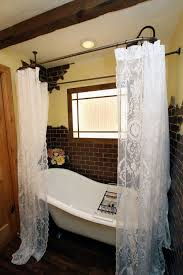 42 best shabby chic shower curtains images on pinterest lace