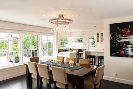 Decorating With Chandeliers Transitional Dining Room Chandeliers Classy Design Tremendous
