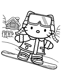 kitty coloring pages 15 print color free