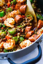 Southern Comfort Meals One Pot Shrimp Jambalaya Lentil Bowls Grain Free