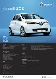 renault zoe electric renault zoe electric vehicle now available in malaysia from rm146k