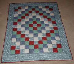 comfort of quilts large version of around the world quilt
