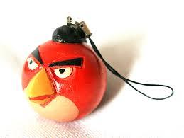 key chain angry birds key ring wood toy keychain keyring son