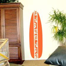 decorations surfboard decor for bedrooms wood hawaiian tropical