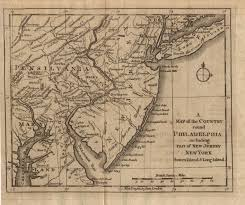 Map Of New Jersey And New York by New Jersey Map Of The 1776 Google Search Hamilton Pinterest
