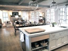 Kitchen Open To Dining Room Fascinating Kitchen And Dining Room Open Floor Plan Home Design