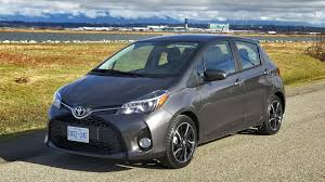 2017 toyota yaris hatchback se test drive review