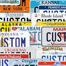 Make Your Own Vanity Plate Collectible License Plates Ebay