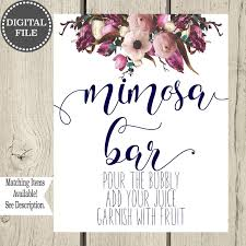 mimosa brunch invitations ckg designs studio