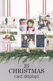 58 best display your holiday cards images on pinterest holiday