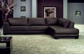 sofa charming leather sectional sofa design black leather