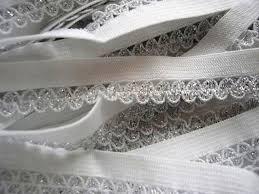 elastic ribbon by the yard embellishment world lace trims elastic flat lace 10