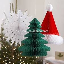 paper christmas decorations unique honeycomb paper christmas decoration view christmas