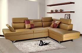 Camel Sectional Sofa Camel Leather Sofa Amazon Com