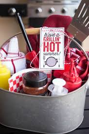 grilling gift basket grilling gift caddy a owl