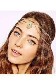 gold headband coachella gold headband lesebi