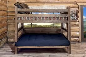 Twin Bunk Beds With Mattress Included The Loft Bed With Futon U2013 The Perfect Solution For Space Starved
