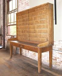 Post Office Help Desk Office Desk Antique Post Office Desk Industrial Wood Postal