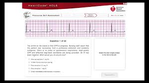 precourse self assessment practical application acls guided video