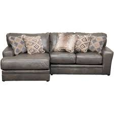 denali 3 piece italian leather sectional with laf chaise 4378 75