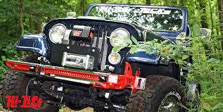 willys jeep lifted montana motor stables options for mounting a hi lift jack on your