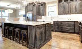 distressed island kitchen rustic shaker gray kitchen cabinets we ship everywhere barn kitchens