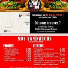 cuisine nord sud la friterie du nord au sud fast food 2 rue paul milliez