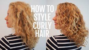 haircuts for frizzy curly hair how to style curly hair for frizz free curls youtube