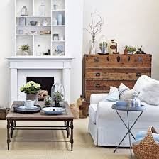 Decorator White Walls White Living Room Ideas Ideal Home