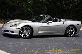 2006 corvette convertible 2006 corvette 3lt convertible for sale at buyavette atlanta