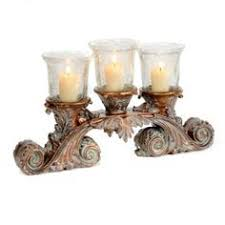 candle runners antique gold 5 pillar candle holder 2r756 lsplus my