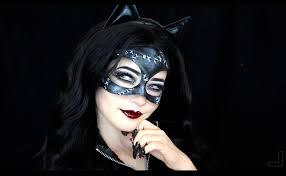 catwoman inspired makeup tutorial make up pinterest