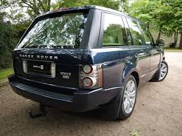 blue range rover vogue used baltic blue land rover range rover for sale hertfordshire