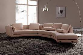 white italian leather round sectional sofa 20 s3net sectional